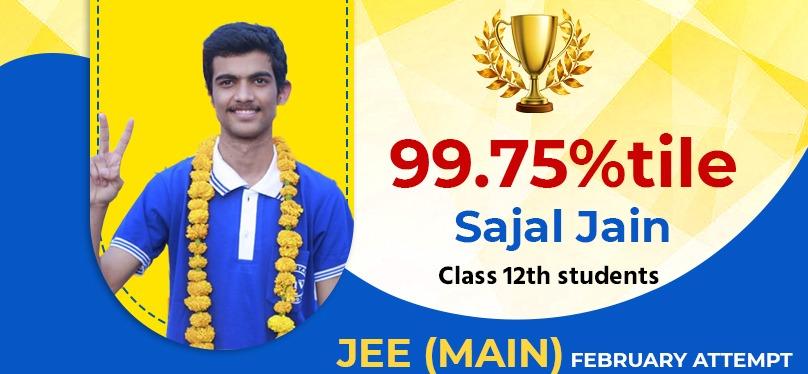 Sajal Jain 99.75%tile